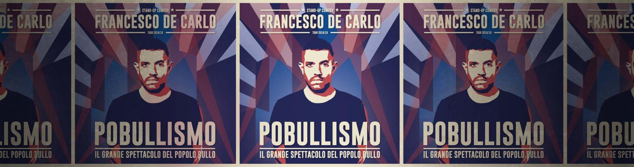 Francesco De Carlo Pobullismo
